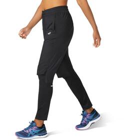 asics Race Pants Women, zwart